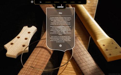 Site Combe-luthier.com