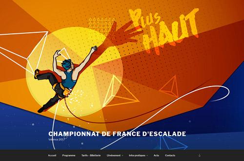 Coupes/Championnats du Monde/France d'Escalade