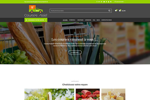 Courses Assist - Courses à domicile en Drôme-Ardèche