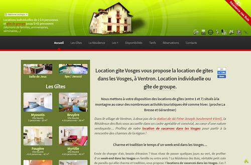 Locations Vosges - Location de gites dans les Vosges, à Ventron
