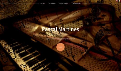 Pascal Martines - Compositeur, arrangeur, orchestrateur